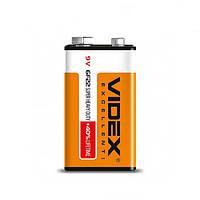 Батарейка Videx 6F22/9V (Крона)