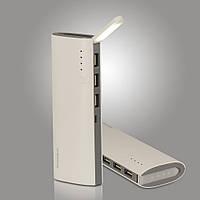 Портативная зарядка Power Bank 30000mAh 3 USB + LED