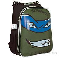 Рюкзак каркасный 1 Вересня Shelby H-12 Turtles face 553345