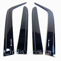Дефлекторы окон ВАЗ 2101 2103 2105 2106 2107 клеящиеся (на скотче) ветровики
