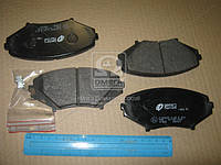 Колодка торм. MAZDA RX-8 03-08 передн. (пр-во REMSA) 1080.01