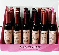 "Блеск-тинт для губ "" Бутылочка вина "" Manzi Miao"