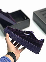 "Кроссовки Puma x Fenty by Rihanna Velvet Creeper ""Purple"" женские"