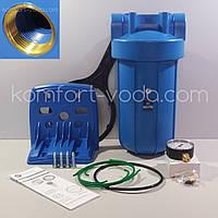 """Магистральный фильтр Aquafilter FH10B1-В-WB, BB10"""" с манометром"""
