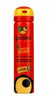Аэрозоль Gardex Extreme Super от комаров клещей (8 часов защиты)