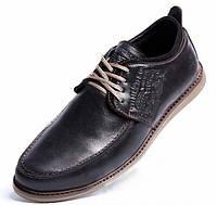 Туфли кожаные Levis Colorado черные 40, 41, 42, 43, 44, 45