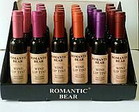 """Блеск-тинт для губ """" Бутылочка вина """"  Romantic Bear"""