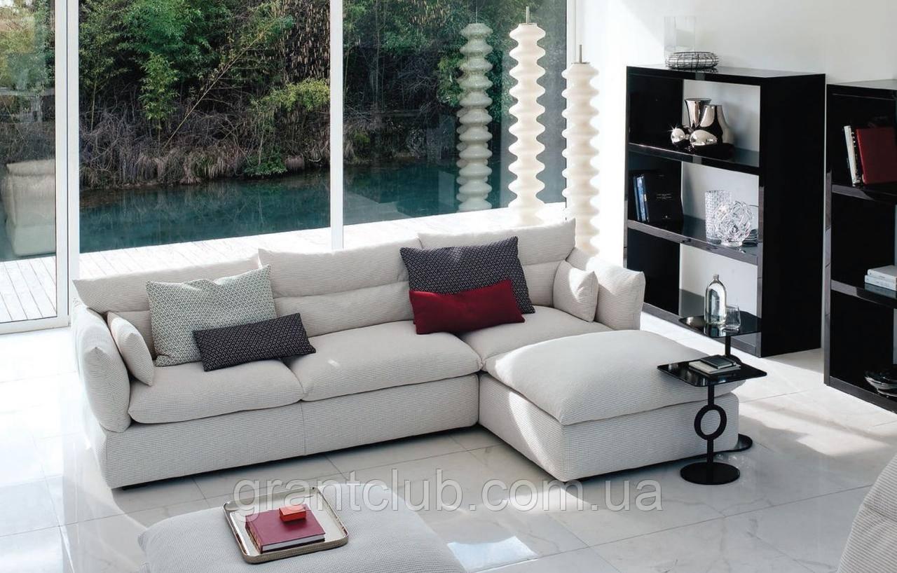 Итальянский модульный диван с высокой спинкой Compos 9 фабрики Swan Italia