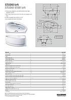 Ванна стальная Kaldewei Studio 828-2 170x90 L