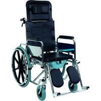 Коляска инвалидная многофункциональная с санитарным оснащением Golfi-4 Heaco
