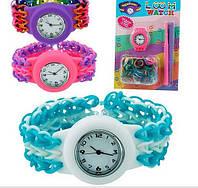 Резинки для плетения браслетов + часы