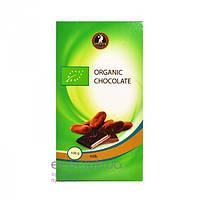 Шоколад молочный органический SHOUD`E 100г