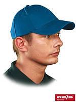 Бейсболка голубая CZLUX N  (100% хлопок)