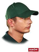 Бейсболка зеленая CZLUX Z  (100% хлопок)