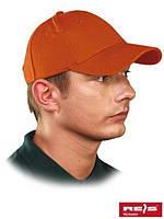 Бейсболка оранжевая CZLUX P (100% хлопок)