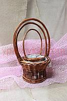 Набор из 3 декоративных флористических корзин - №SFW-670030