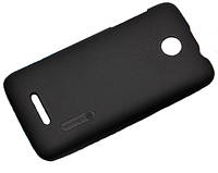 Накладка Nillkin Lenovo A390 Super Frosted Shield (BLACK) (пленка в комплекте)