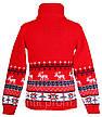 """Детский теплый шерстяной свитер """"Олени"""", для мальчиков, оптом, фото 4"""