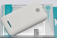Накладка Nillkin Lenovo A390 Super Frosted Shield (WHITE) (пленка в комплекте)