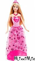 Кукла Barbie Принцесса Gem с Дримтопии, Barbie, Mattel, русая, роз. пл. с камнем в виде сердца