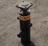 Гідроциліндр підйому кузова КАМАЗ колгоспник (55102-8603010-01) 3-х штоковый, фото 2
