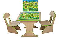 Игровой столик растущий +2 стульчика, Игра 303FP