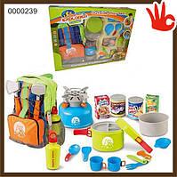 Детский игровой Набор туриста для пикника, 008-80 B рюкзак