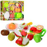 Детский игровой набор Продукты 618A на липучке, фрукты