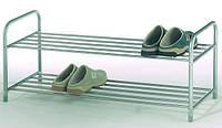 Полка для обуви 2-яруса металл