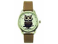 Часы ANDYWATCH наручные Сова из кофе