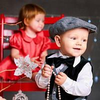 Нарядный костюм для мальчика Mimino Артем, цвет серый