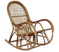 Кресло-качалка КК-4/3 кант с косой.