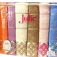 Комплект махровых банных полотенец Damask Julie 6338