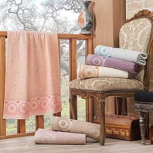 Комплект махровых банных полотенец Dantel Jakarli Julie 3528