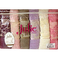 Набор полотенец для лица Zarif Julie 6376