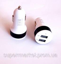 USB зарядка  адаптер  в автомобильный прикуриватель 12-24V под usb, Адаптер 5V*1A*2шт