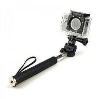 Монопод телескопический SJCAM 100мм. Для камер SJCAM/ Xiaomi / GoPro