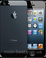 """Китайский iPhone 5 X5, 2 SIM, дисплей 4"""", Java. Самая качественная копия айфон 5. Черный, фото 1"""