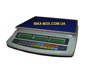 Торгові ваги до 15 кг ВТЕ 15-Т1-СМ з повіркою