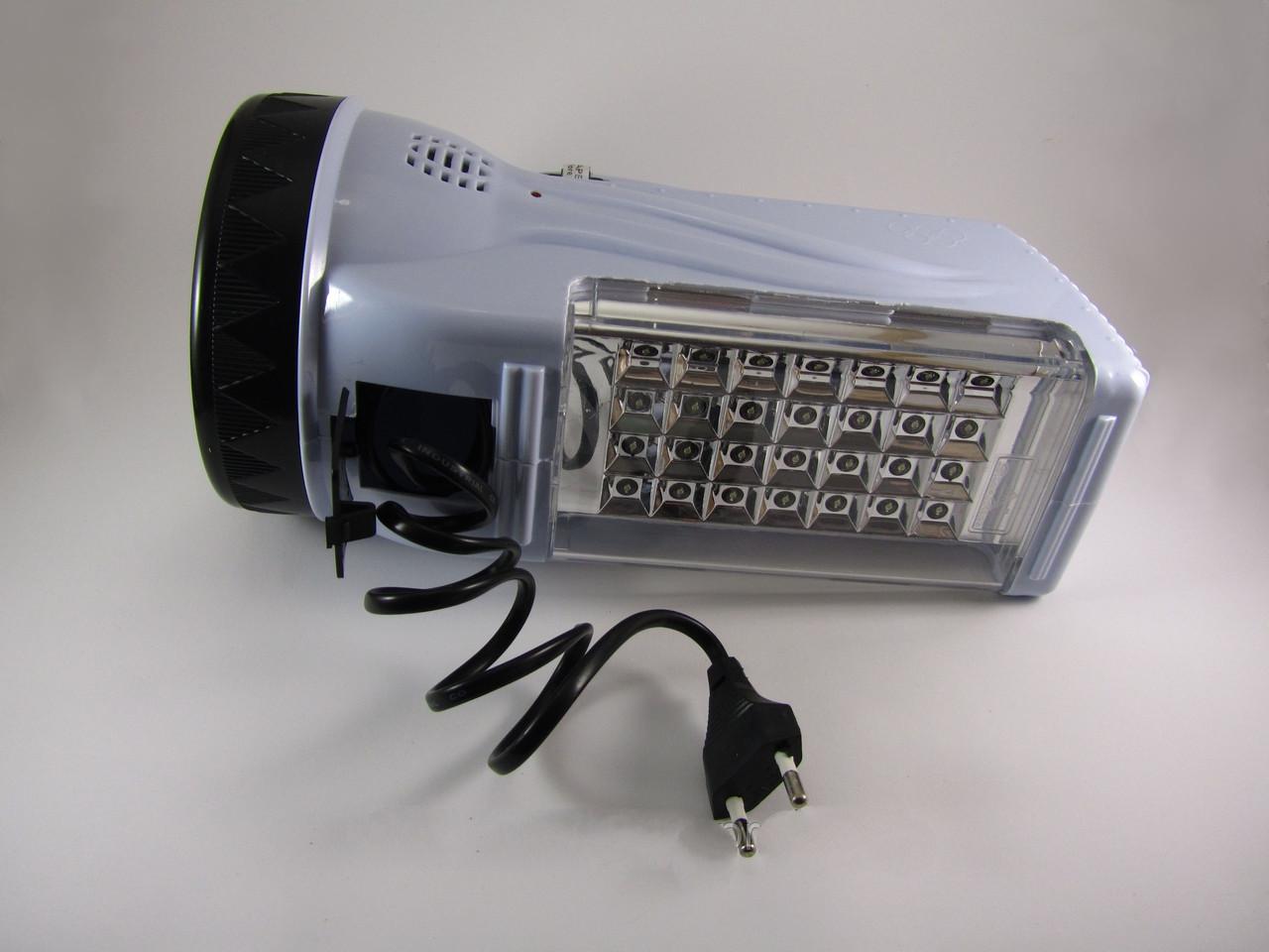 Led фонарь зарядка от сети