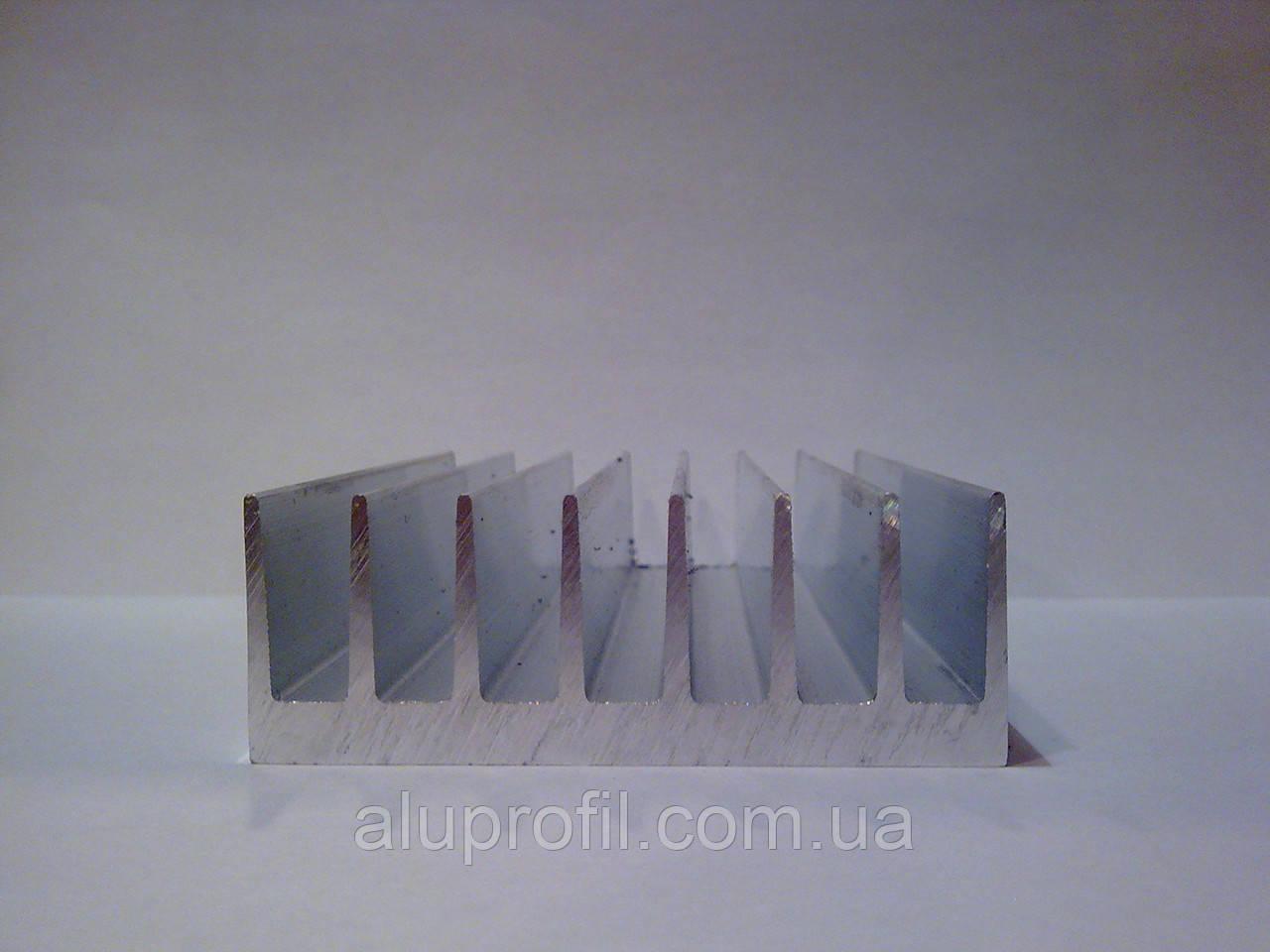 Алюминиевый профиль радиаторный 72х26 Б/П - Алюминиевый радиаторный профиль