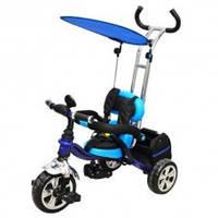 Товар Велосипед M 0697-D.,EVA Foam, три колеса, съëмная корзина, темно-синий.