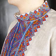 Льянная мужская сорочка, большая цветовая гамма, фото 3