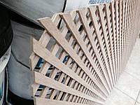 Решетка радиаторная деревянная ДУБ 1200*600
