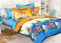 Комплект детского постельного белья 150*220 хлопок (7091) TM KRISPOL Украина