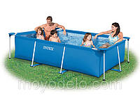 Каркасный бассейн Rectangular Frame Pool Intex 28271 (260x160x65 см) (58980)