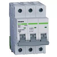 Автоматический выключатель Noark, Чехия,  Ex9BN 6kA (3Р С20)  (3 -х полюсный C20А)