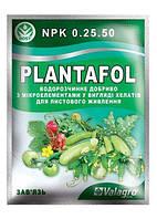 """Минеральное Удобрение купить Plantafol(Плантафол) NPK 0.25.50 """"Завязь"""" ТМ """"Valagro"""" 25г"""