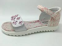 Босоножки сандалии на низкой платформе для девочек  Том.М. размеры 34 35, фото 1