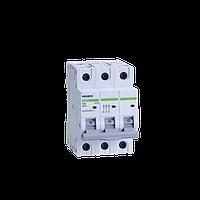 Автоматический выключатель Noark, Чехия,  Ex9BN 6kA (3Р С63)  (3 -х полюсный C63А)